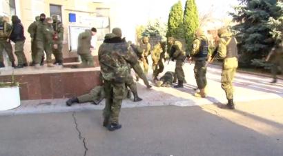 Взрывоопасная ситуация на Одесском НПЗ