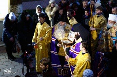 В Одессу прибыли мощи святого Александра Невского (фото)