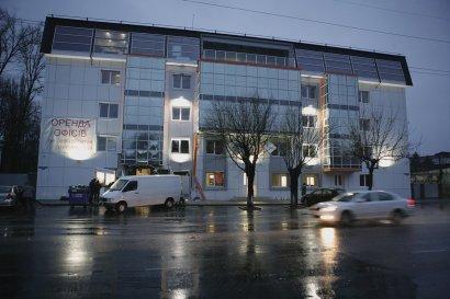 В Одессе взорвали бизнес-центр (фото)