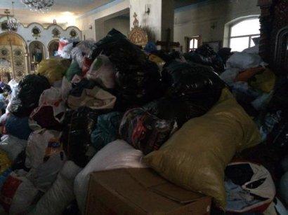 Одесская епархия начинает 3-й этап сбора помощи для жителей Донбасса и переселенцев
