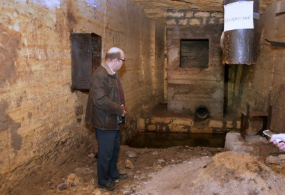 «Исторический» VIP-бункер в одесских катакомбах