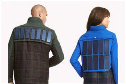 Появились «солнечные куртки», которые заряжают мобильные гаджеты