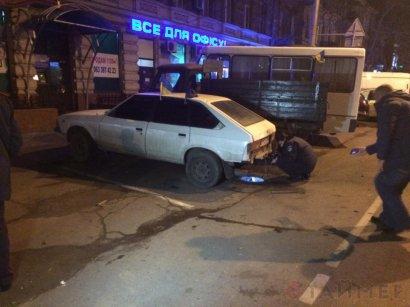 Взрыв в центре Одессы