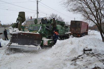 Ликвидация последствий одесского снегопада продолжается (фото)