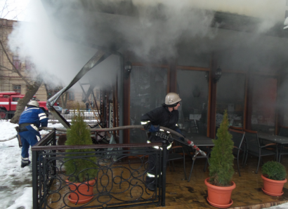 Взрыв в Измаильском кафе: печальные последствия (фото)