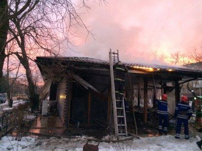 Взрыв в Измаильском кафе (видео)
