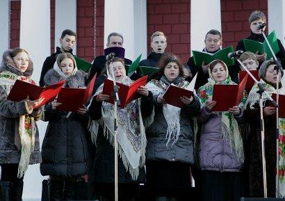 Перед одесситами выступил Митрополичий хор