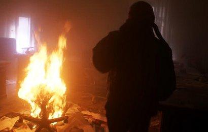В Одессе горели офис и торговый павильон