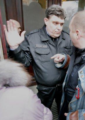 """Пикет вкладчиков банка """"Порто-Франко"""""""