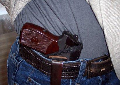 В Одессе задержан иностранец с пистолетом