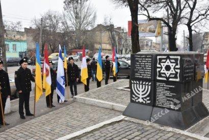 Одесситы почтили память жертв Холокоста