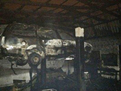 В Измаиле долго усмиряли мощный пожар (фото)