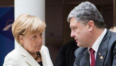 Встреча Порошенко и Меркель состоится 6-8 февраля