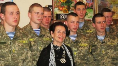 Курсанты военной Академии «окунулись» в «Ручьи, где плещется форель»