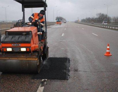 Начался ремонт проблемных участков трассе «Одесса-Киев»