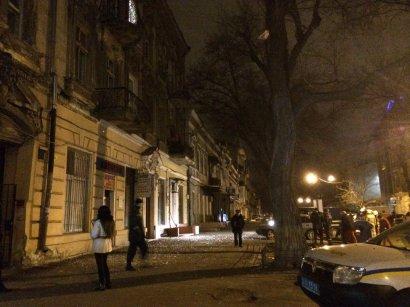 В центре Одессы опять взрыв
