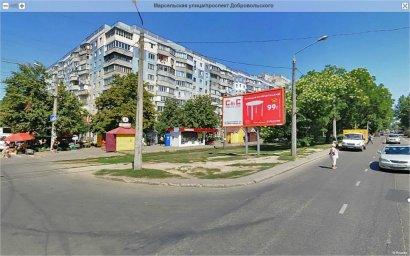 На проспекте Добровольского украли... фонари