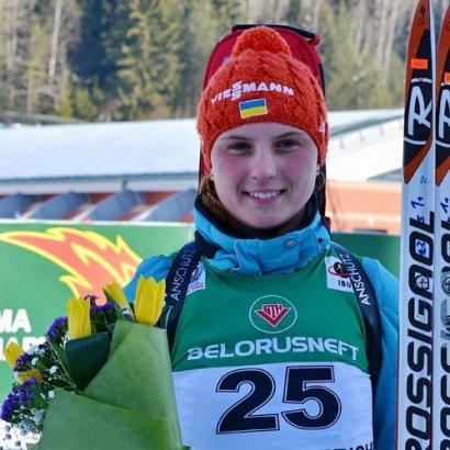Украинка Анна Кривонос стала Чемпионкой мира по биатлону