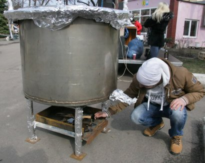 В Одессе — рекорд: 200 литров бульончика!