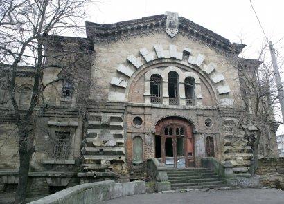 Одесский «масонский дом» грозит очередным обрушением? (фото)