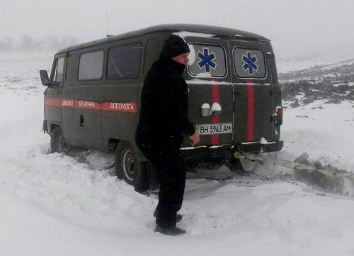 ВОдесской области 17 населенных пунктов остались без электрической энергии из-за непогоды