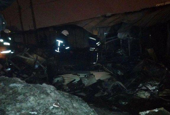 Пожар наодесском рынке «Привоз» ликвидирован