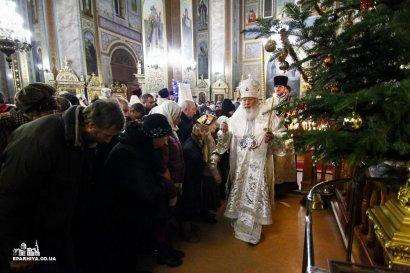 Митрополит Агафангел поздравил одесситов с Рождеством