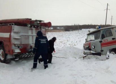 Одесские спасатели помогли работникам скорой медицинской помощи (фото)