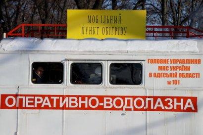 В Одессе в пунктах обогрева обеспечена медицинская помощь