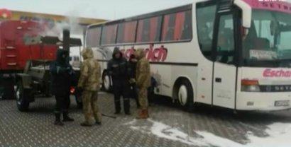 Водитель автобуса спас 70 человек на трассе М-15