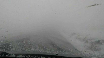 В регионе снегопад. Дороги закрыты!