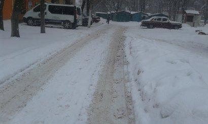 В Одессе снегопад