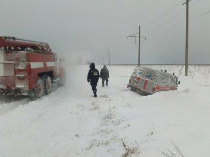 Снегопад в Одесской области: Спасатели утверждают, что пока все под контролем