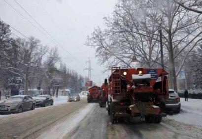 В Одессе чистят улицы (фото)