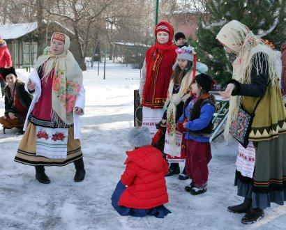 В Одесском зоопарке прошли «Рождественские вечерницы»  (фото)