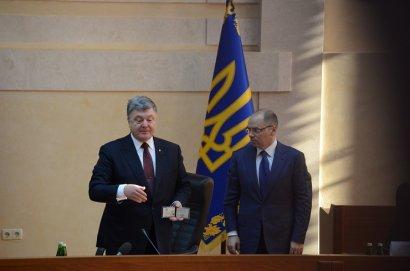 Президент дал Степанову три месяца на устранение всех недочетов в работе Одесской областной администрации (фото)