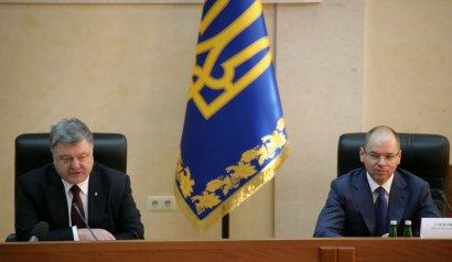 Петр Порошенко подверг жесткой критике деятельность Саакашвили