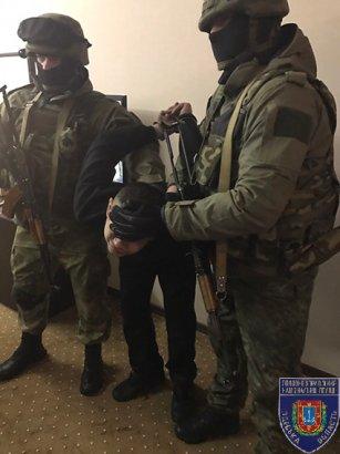 В Одессе задержали опасного преступника (фото)