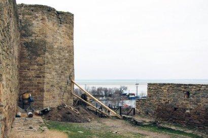 Аккерманскую крепость укрепили подпорками
