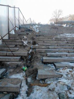 Проточная вода, попавшая под основание Потемкинской лестницы, не нанесла ущерба памятнику архитектуры