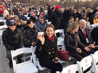 Сергей Кивалов находится в США на инаугурации президента Трампа (фото)