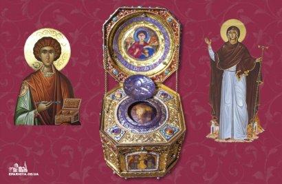 В Одессу со Святой Горы Афон привозят мощи святого великомученика Пантелеимона (видео)