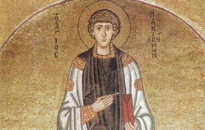 2 февраля в Одессу прибывают мощи святого великомученика и целителя Пантелеимона
