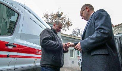 Три южных района Одесской области получат современные «скорые» (фото)