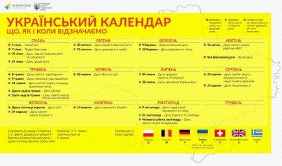 Календарь выходных дней в Украине по версии Института национальной памяти