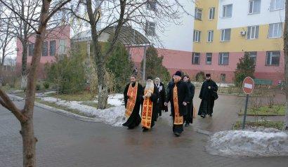 Мощи святого великомученика и целителя Пантелеимона были доставлены в Одесский областной онкологический диспансер (фото)