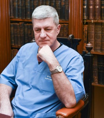 Одесский хирург Виталий Вансович: Хирургия - это командный вид спорта