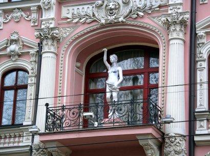 Удивительные балконы Одессы (фото)