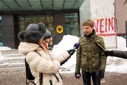Немецкий МИД отреагировал на перформанс Гончаренко