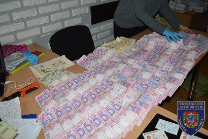 В Одессе задержали бандитов с 2,5 млн. грн в сумке (фото)